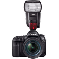 CanonEOS 5D Mark IV DSLR Body With Speedlite 600EX ll-R