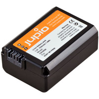 Jupio NP-FW50 Lithium-Ion Rechargeable Battery for Sony Cameras - 1030 mAh