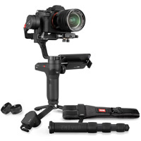 Zhiyun Weebill Lab Stabilizer Creator Package. Incl Phone Holder, Servo Zoom, Monopod, Tripod, and Belt
