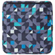 Switch Cover 10 Blue/Gray Geometric