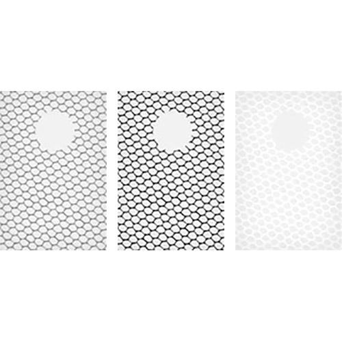 100x150mm Net Set Resin Drop In Filter Set Includes Black Net 1, Black Net 2, and White Net