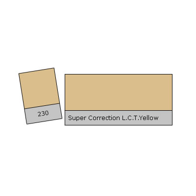 "20""x24"" Super Correction L.C.T. Yellow Lighting Filter"