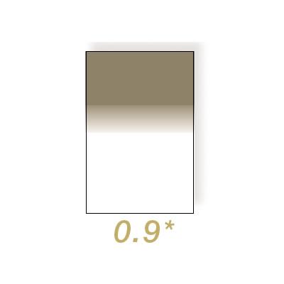 100x150mm Neutral Density 0.9 Graduated Hard Resin Drop In Filter