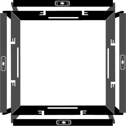 Barndoor Frame Only
