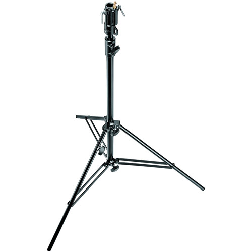 608BU Black Steel Cine Stand 2 Section, Rocky