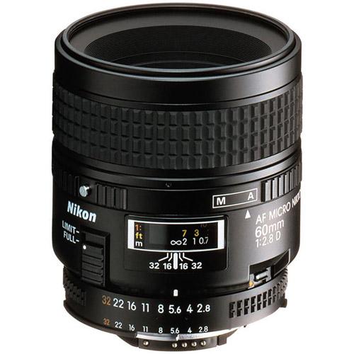 AF Micro-NIKKOR 60mm f/2.8 D Lens