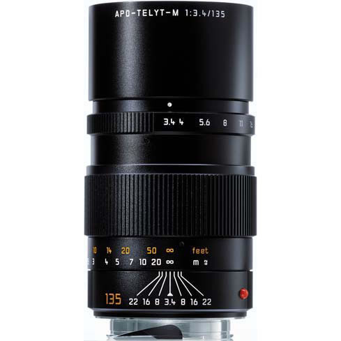 135mm f/3.4 APO-Telyt-M Black Lens (E49)