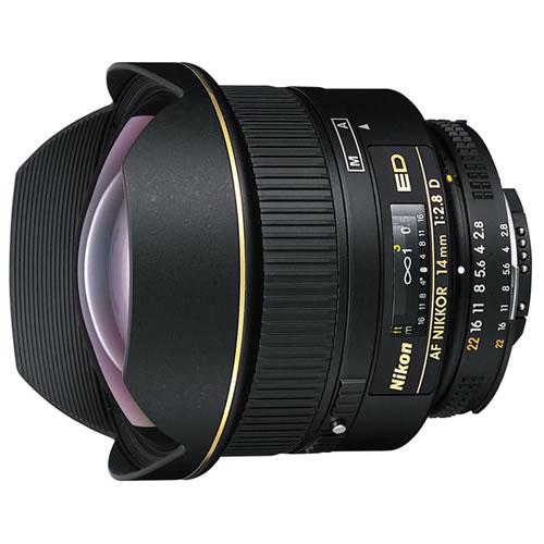 AF NIKKOR 14mm f/2.8 D ED Lens