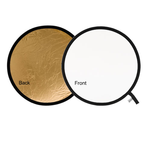 95cm Reflector Gold/White