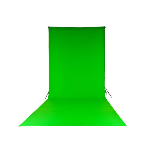 ChromaKey Green (3x7m) Curtain Background
