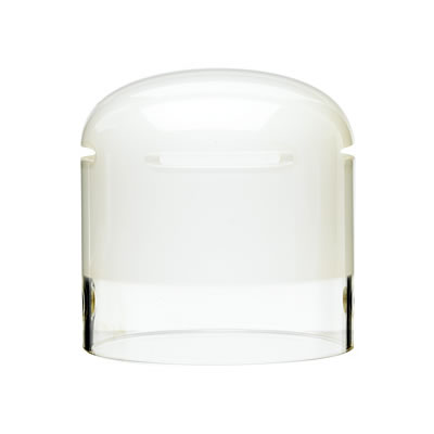 Head Glass Cover for Pro-7 & Acute 2, Frosted, UV-Coated 75mm
