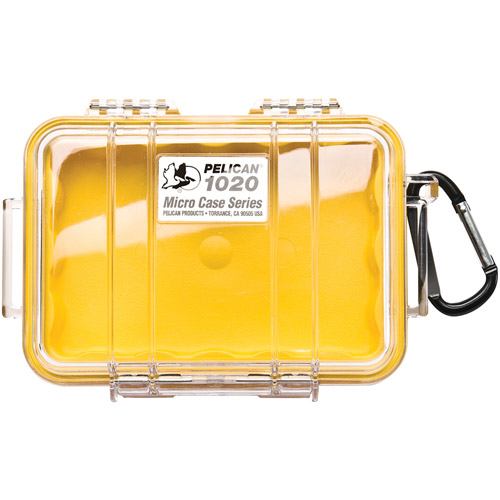 1020 Micro Case Yellow/Clear