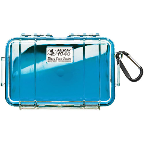 1040 Micro Case Blue/Clear