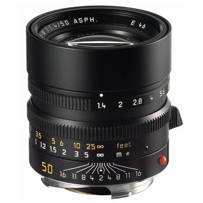 50mm f/1.4 ASPH Summilux-M Black Lens (E46)