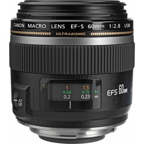 EF-S 60mm f/2.8 USM Macro Lens