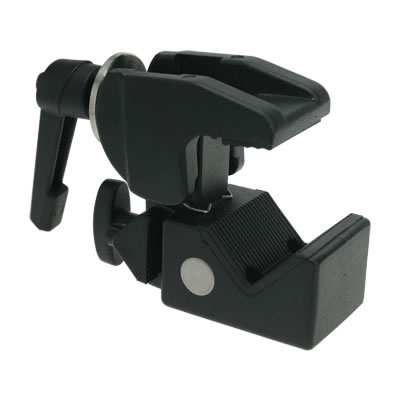 Kupo KCP-710B Convi Clamp with Racheted Handle - Black