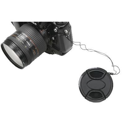 62mm Snap on Lens Cap w/Keeper