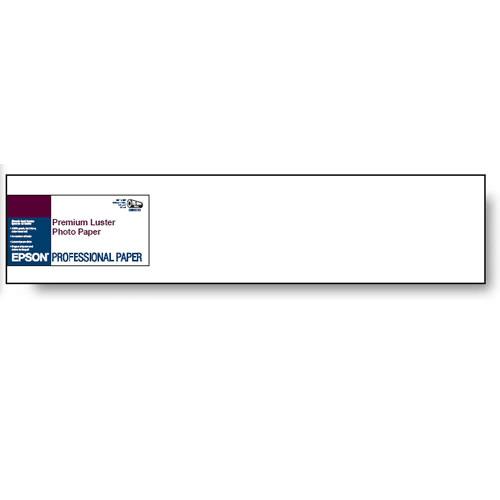 "16""x100' Premium Luster Photo Paper 260gsm - Roll"