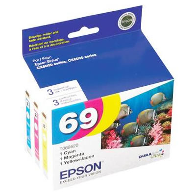 T069520-S Multipack Ink DURABrite Cartridge