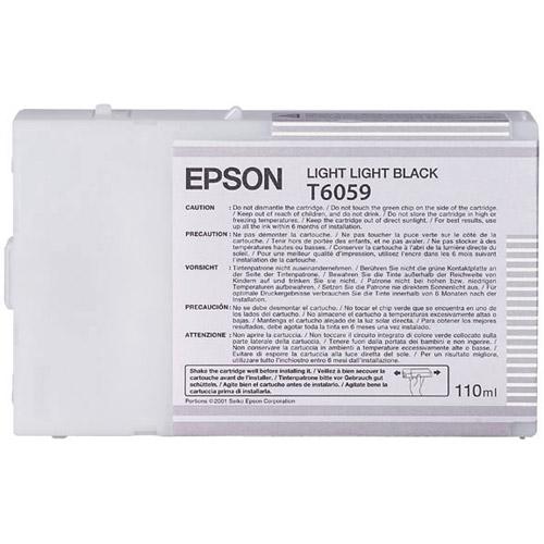 T605900 Light Light Black Ink 110ml UltraChrome for SP 4800, 4880