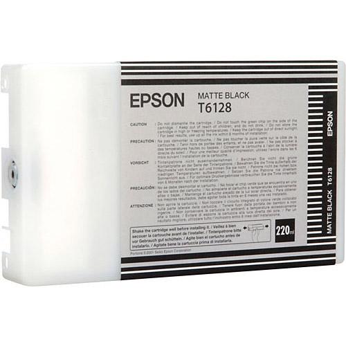 T612800 Matte Black Ink 220ml UltraChrome for SP 7800, 7880 & 9800, 9880