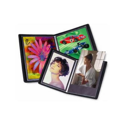 "5"" x 7"" Presentation Book Black Art Profolio Evolution with 24 Pages"