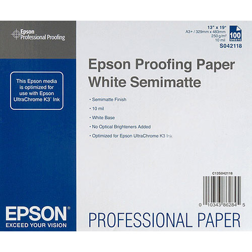 Specialty Paper Proofing Paper