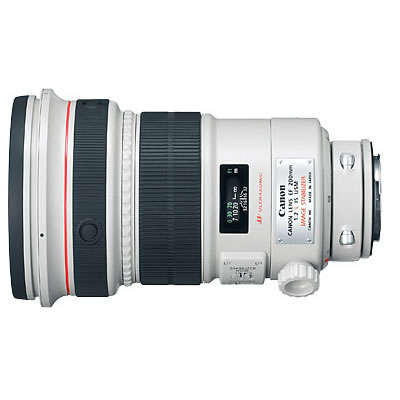 EF 200mm f/2L IS USM Telephoto Lens