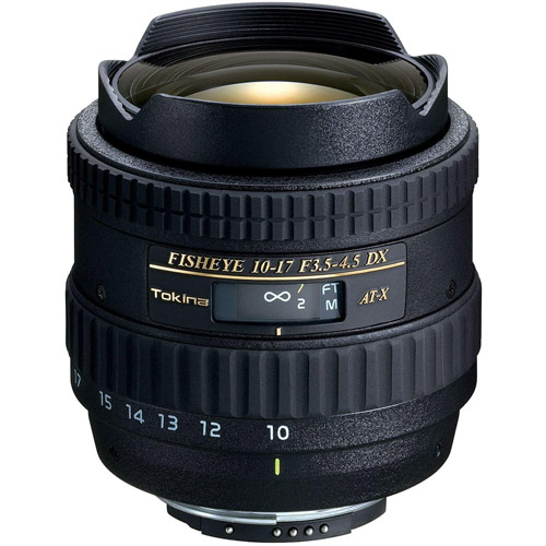 AT-X 10-17mm f/3.5-4.5 DX Fisheye Lens for Nikon