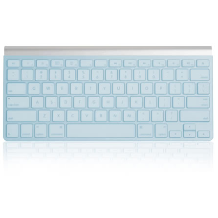kb covers blue aqua keyboard cover for apple ultra thin wireless keyboard keyboards mouse track. Black Bedroom Furniture Sets. Home Design Ideas