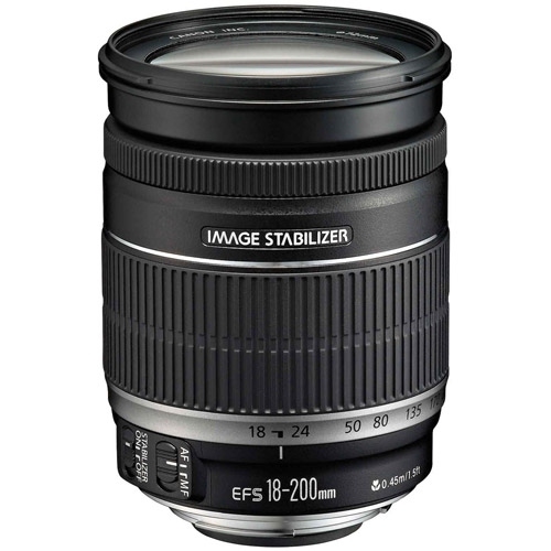 EF-S 18-200mm  f/3.5-5.6 IS Zoom Lens