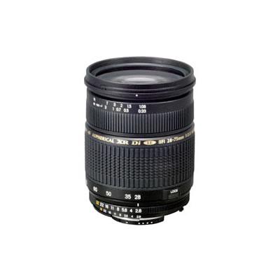 SP AF 28-75mm f/2.8 Di  XR LD IF ASL Macro Lens for Nikon NII w/ Hood