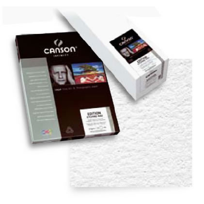 """24"""" x 50' Infinity Edition Etching Rag Matte - 310 gsm - Roll"""