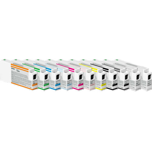 T596500 Light Cyan 350ml Ultrachrome HDR Ink Cartridge for SP7900, 9900, 7890, 9890