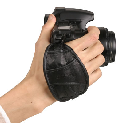 Leather Camera Grip - 5