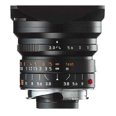18mm f/3.8 ASPH Super-Elmar-M Black Lens