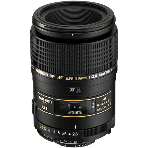 90mm f/2.8 Di SP 1:1 Macro Lens for Nikon