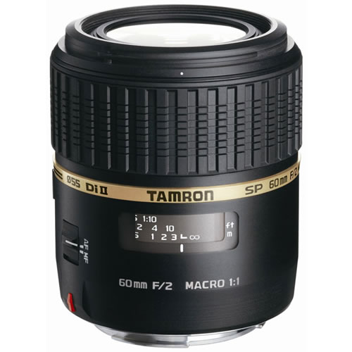 60mm f/2.0 Di II SP 1:1 Macro Lens for Canon