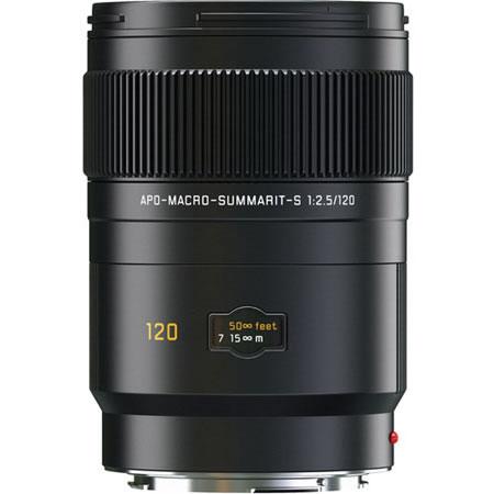 120mm f/2.5 Summarit-S APO Macro Lens Black