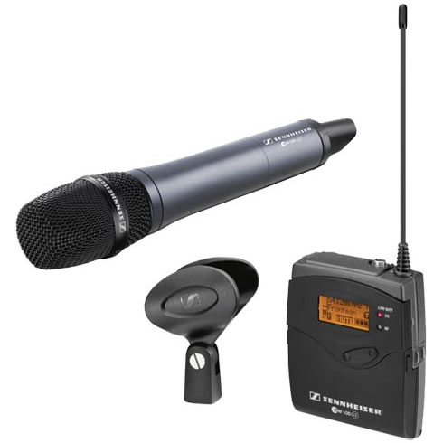 EW135P G3 Handheld Dynamic Cardioid (Available Freqs. A, B & G)