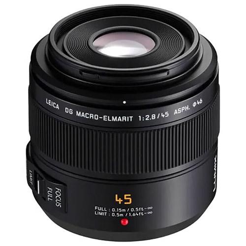 Leica DG Macro-Elmarit 45mm f/2.8 Mega OIS Lens