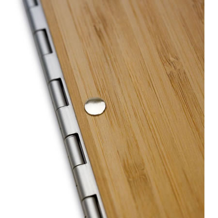 Bamboo 11 x 8.5 Presentation Book Amber