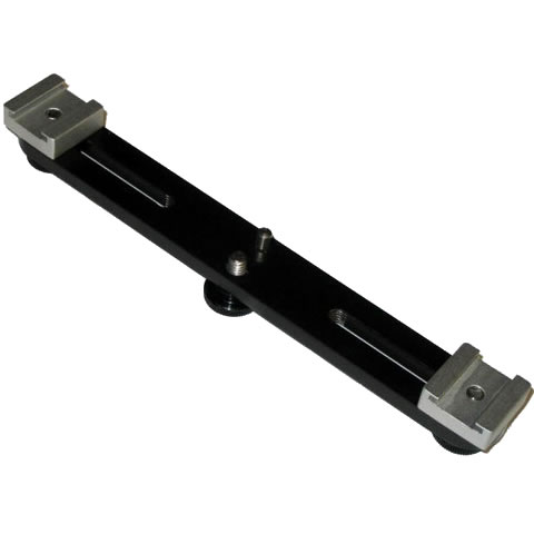 Symmetrical Accessory Bar, 20cm Wide, Tripod Mountable