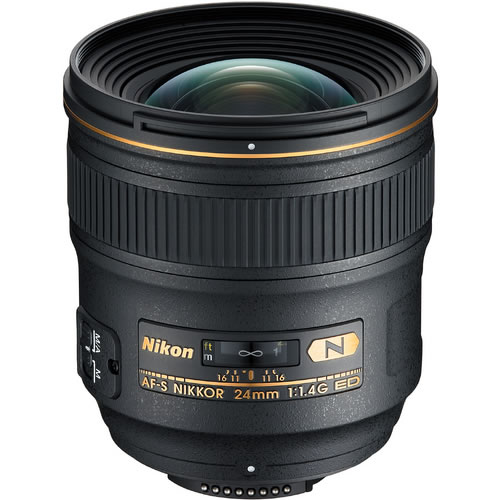 AF-S NIKKOR 24mm f/1.4 G ED Lens