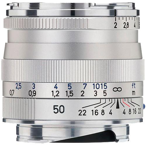 Planar T* 50mm f/2.0 ZM Silver