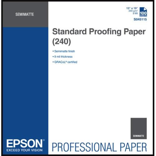 "13"" x 19"" Proofing Paper Standard 240gsm 100 Sheets"