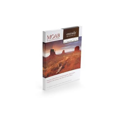 """5""""x7"""" Entrada 300gsm Natural 2 Sided Fine Art Paper - 25 Sheets"""
