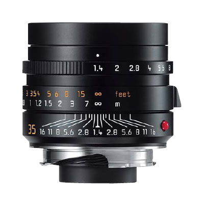 35mm f/1.4 ASPH Summilux-M Black Lens (E46)