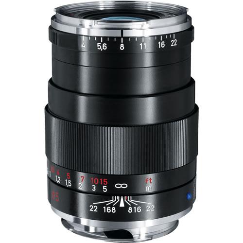 Tele-Tessar T* 85mm f/4 ZM Black