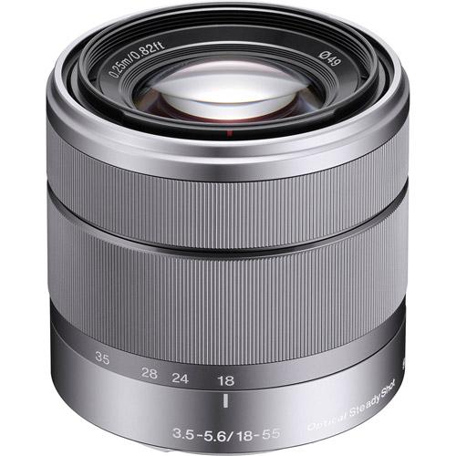 SEL 18-55mm f/3.5-5.6 OSS E-Mount Lens